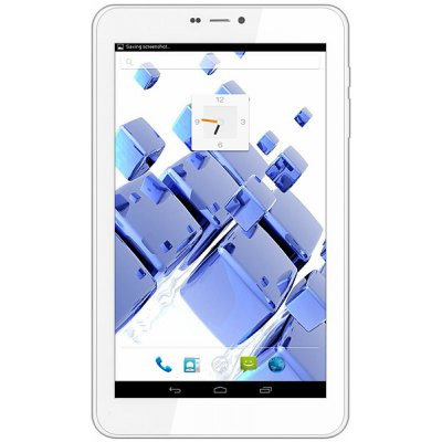 D708 Android 4.2 3G Phablet MTK8312 Dual Core 1.3GHz with 7 inch WSVGA Screen GPS WiFi Dual Cameras 4GB ROM en Gearbest