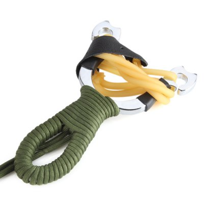 High Quality Handle Stainless Steel Slingshot Special for Competition