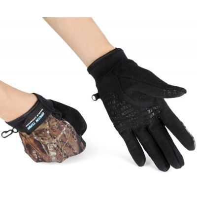 Practical Palm Protection Bicycle Full - finger Gloves for Outdoor Sports