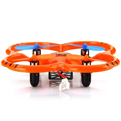 U207 New Design 2.4GHz 4 Channel Quadcopter 6 Axis Gyro 360 Degree Somersault Mini Aircraft with LED Light