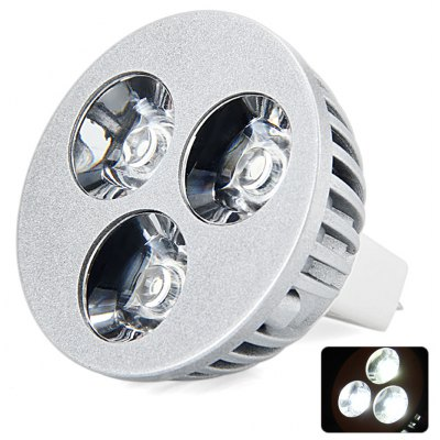 MR16 Based 9W 5000 - 5500K High Quality Cree LED Spot Light Bulb for Art Galleries Hotel Museums