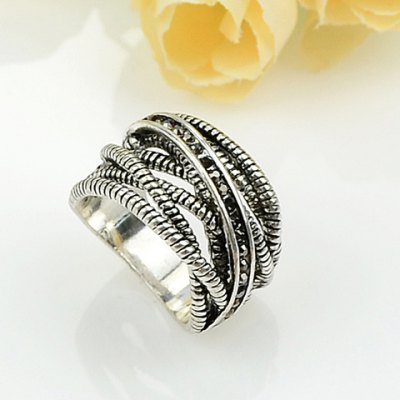 Retro Style Multi-Layered Ring For Women en Gearbest