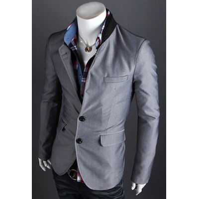Fashion Style Personality Color Block Lapel Slimming Long Sleeves Mens Cotton Blend BlazerMens Blazers<br>Fashion Style Personality Color Block Lapel Slimming Long Sleeves Mens Cotton Blend Blazer<br><br>Material: Cotton,Polyester<br>Clothing Length: Regular<br>Closure Type: Single Breasted<br>Weight: 0.678KG<br>Package Contents: 1 x Blazer