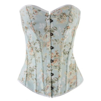 Sexy Strapless Slimming Floral Print Corset For Women