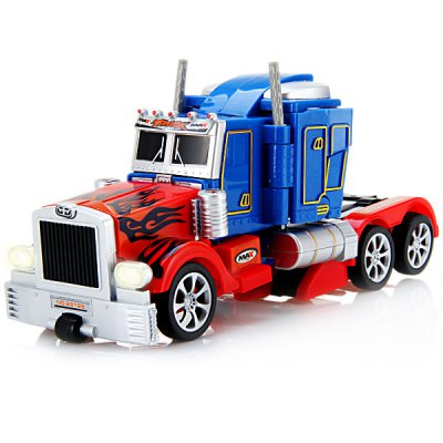 Fengyuan Remote Control 28128 Robot Transformers / Optimus Prime / Automatic Deformation Car Toy 220 - 240V