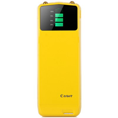 Cager B039 3000mAh External Battery Charger Mobile Power Bank with Digital Display Suitable