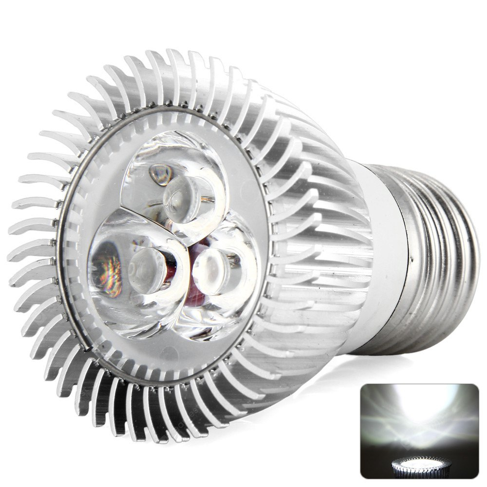 E27 Based 9W 5000 - 5500K High Quality Cree LED Spot Light Bulb for Art Galleries Hotel Museums