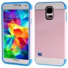 Fashionable TPU and Plastic Material Knock - down Design  Back Cover Case for Samsung Galaxy S5 I9600 SM - G900