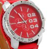 best WOMAGE1091B Men Pointer Quartz Watch (PU Watchband + Stainless Steel Back + Round Dial + Pin Buckle)