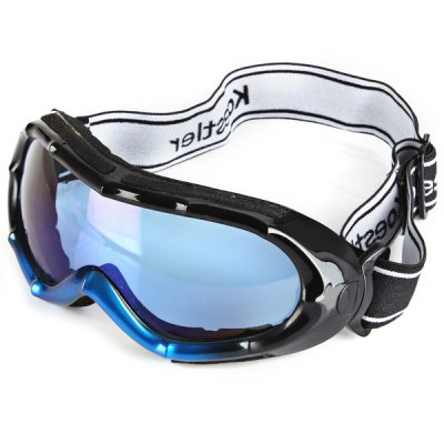 Гаджет   Sporty Anti-impact Bamboo Joint Framed Outdoor Activity Snow Goggles Eyeglasses Ski Goggles