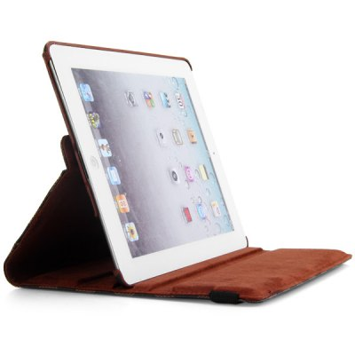 360 Degrees Rotating Stand Design PC and PU Material Cover Case with Grid Pattern for iPad 2 3 4iPad Cases/Covers<br>360 Degrees Rotating Stand Design PC and PU Material Cover Case with Grid Pattern for iPad 2 3 4<br><br>For: Tablet<br>Compatible for Apple: iPad 2/3/4<br>Features: Full Body Cases, Cases with Stand<br>Material: Plastic, PU Leather<br>Style: Grid Pattern, Special Design<br>Color: Black, White, Brown<br>Product weight : 0.274 kg<br>Package weight : 0.350 kg<br>Product size (L x W x H): 24.7 x 19 x 2 cm / 9.7 x 7.5 x 0.8 inches<br>Package size (L x W x H) : 27 x 21 x 4 cm<br>Package Contents: 1 x Case