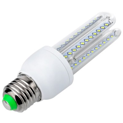YouOKLight E27 7W SMD - 3014 66 - LED Warm White Corn Bulb  -  3000K 700LM AC 85 - 265VLED Light Bulbs<br>YouOKLight E27 7W SMD - 3014 66 - LED Warm White Corn Bulb  -  3000K 700LM AC 85 - 265V<br><br>Brand : YouokLight<br>Base Type: E27<br>Type: Corn Bulbs<br>Output Power: 7W<br>Emitter Type: SMD-3014 LED<br>Total Emitters: 66 LEDs<br>Actual Lumen(s): 700LM<br>Voltage (V): AC85-265<br>Features: Long Life Expectancy, Low Power Consumption, Energy Saving<br>Function: Studio and Exhibition Lighting, Commercial Lighting, Home Lighting<br>Available Light Color: Cold White, Warm White<br>Sheathing Material: Glass, Plastic<br>Product Weight: 0.062 kg<br>Package Weight: 0.09 kg<br>Product Size (L x W x H): 13.9 x 4.2 x 4.2 cm / 5.47 x 1.65 x 1.65 inches<br>Package Size (L x W x H): 16 x 5.5 x 5.5 cm<br>Package Contents: 1 x LED Corn Light