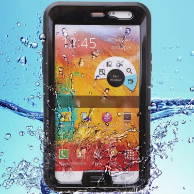 Waterproof Silicone and Plastic Protective Cover Case for Samsung Galaxy Note 3 N9000 N9006