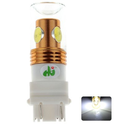 HJ 3157 10W 900lm 1 CREE Lamp Beads 3 LED Integrated Lamp Beads Glass Lampshade for Car Reversing Light(12 – 24V) en Gearbest