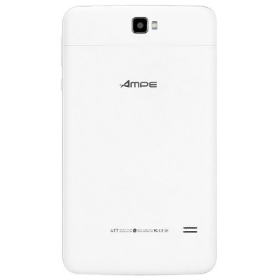 Ampe A77 3G Android 4.2 Phablet MTK8312 1.3GHz with 7 inch WSVGA Screen Bluetooth GPS WiFi Dual Cameras