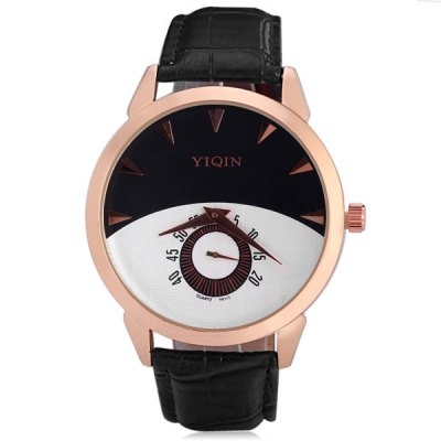 Yinqin 6113 Male Quartz Watch Round Dial Leather Watch BandMens Watches<br>Yinqin 6113 Male Quartz Watch Round Dial Leather Watch Band<br><br>Watches categories: Male table<br>Watch style: Fashion<br>Available color: White, Black, Blue<br>Movement type: Quartz watch<br>Shape of the dial: Round<br>Display type: Pointer<br>Case material: Stainless steel<br>Case color: Gold<br>Band material: Leather<br>Clasp type: Pin buckle<br>Water Resistance: Life water resistant<br>The dial thickness: 0.9 cm / 0.4 inches<br>The dial diameter: 4.5 cm / 1.8 inches<br>The band width: 2.0 cm / 0.8 inches<br>Product weight: 0.047 kg<br>Product size (L x W x H): 25.2 x 4.5 x 0.9 cm / 10.0 x 1.8 x 0.4 inches<br>Package Contents: 1 x Watch