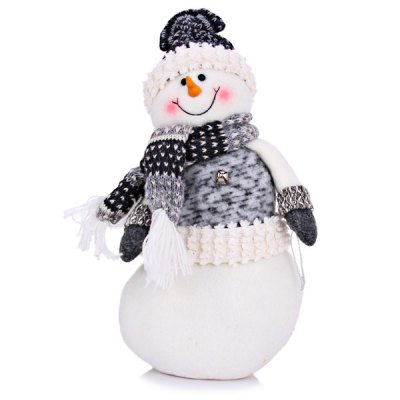 Lovely Snowman with Hat Scarf Festival Gift Christmas Ornament от GearBest.com INT