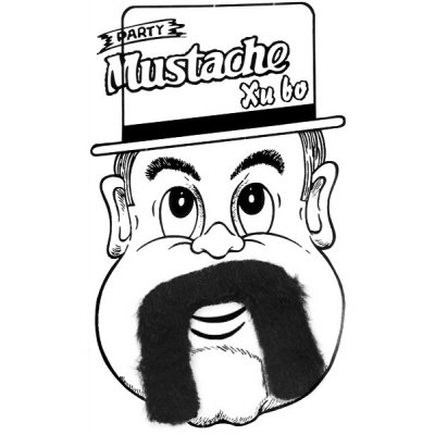 Costume Mustache for Party Decoration en Gearbest