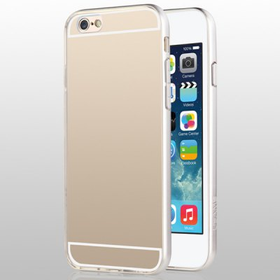 USAMS Slim Series Transparent PC and TPU Material Protective Cover Case for iPhone 6 4.7 inch Screen