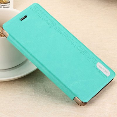 ФОТО USAMS Merry Series Comfortable Polycarbonate and Artificial Leather Protective Cover Case with Stand for Xiaomi M4