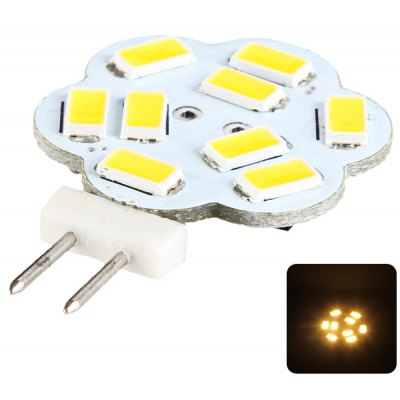 2.7W G4 SMD - 5630 220LM Plum LED Light Bulb Replacement for Car (9 LEDs Warm White)