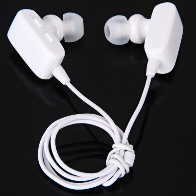 Roman S310 Stylish Bluetooth Hands Free Sports Earphone Dual Headphone with Mic for Smartphones Tablet PC