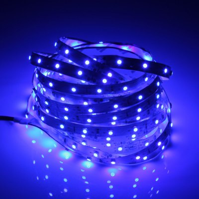 5M 30W 3528 SMD x 300 LEDs High Brightness Blue Light Strip Lamp (DC 12V)