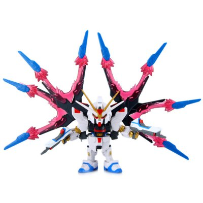 ZGMF — X20A In — game Setting Strike Freedom Gundam Toy Action Figure Suit with Super Dragon Wings
