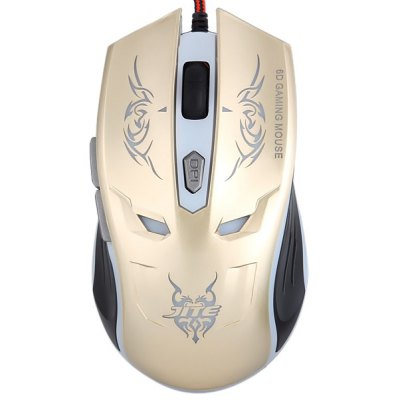 JITE-07 Six Buttons Optical Wired Gaming Mouse