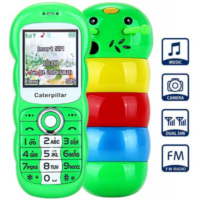 Lovely Kids K8 Mobile Phone FM Radio Camera Bluetooth Dual ...