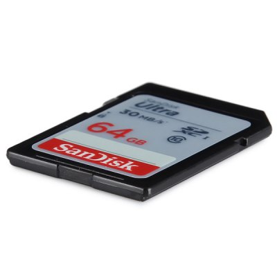 Sandisk 64GB Ultra High Speed 30MB/s Class 10 SDXC SD Memory Card