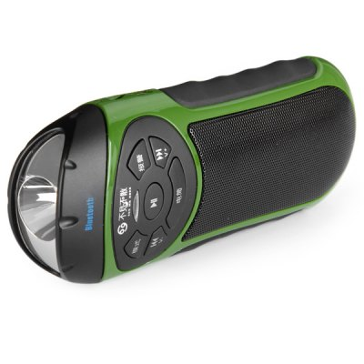 Гаджет   RV77S High Quality Outdoor Bluetooth Speaker Built - in Lithium Battery Support Mini USB TF SD Card Input Speakers