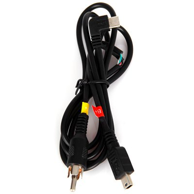 Гаджет   Micro USB Video Output Cable for SJ4000 / SJ4000 WiFi Car DVR Camcorder Action Cameras & Sport DV Accessories