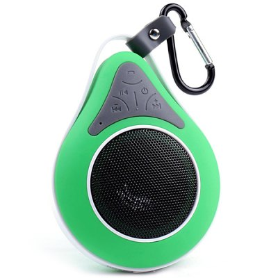 Гаджет   JT2686 Super Mini Wireless Bluetooth IPX7 Waterproof Speaker Built - in Microphone with Suction Cup for Outdoor Activities Speakers