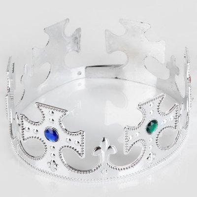 Adjustable King Crown Emulational Halloween Christmas Party Festival Props