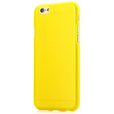 Practical Soft TPU Material Back Cover Case with Solid Color for iPhone 6