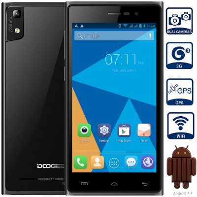 DOOGEE TURBO2 DG900 Android 4.4 3G Phablet with 5.0 inch FHD Screen MTK6592 1.7G