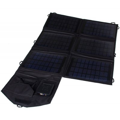 SUNWALK-210 21W Outdoor Foldable Portable Solar Charger Pack Mobile Power Supply