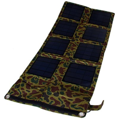 SP24W 24W Outdoor Foldable Portable Solar Charger Pack Mobile Power Supply