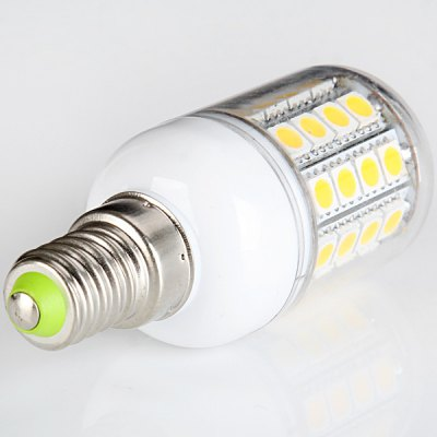 Гаджет   Sencart E14 8W SMD - 5050 3000 - 3500K Transparent LED Corn Lamp (45 LEDs 390LM Warm White) LED Light Bulbs