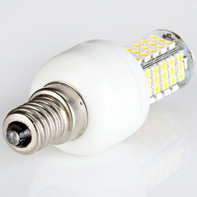 Sencart 6W 280LM SMD 3528 E14 Warm White 102 - LED Corn Bulb without ShellLED Light Bulbs<br>Sencart 6W 280LM SMD 3528 E14 Warm White 102 - LED Corn Bulb without Shell<br><br>Brand : Sencart<br>Base Type: E14<br>Type: Corn Bulbs<br>Output Power: 6W<br>Emitter Type: SMD-3528 LED<br>Total Emitters: 102 LEDs<br>Actual Lumen(s): 280LM<br>Voltage (V): AC85-265<br>Appearance: No Cover<br>Features: Low Power Consumption, Long Life Expectancy, Energy Saving<br>Function: Home Lighting, Commercial Lighting, Studio and Exhibition Lighting<br>Available Light Color: Warm White, Cold White<br>Sheathing Material: Aluminum Alloy, Plastic<br>Product Weight: 0.027 kg<br>Package Weight: 0.07 kg<br>Product Size (L x W x H): 7.6 x 2.8 x 2.8 cm / 2.99 x 1.10 x 1.10 inches<br>Package Size (L x W x H): 13 x 10 x 4 cm<br>Package Contents: 1 x LED Corn Light