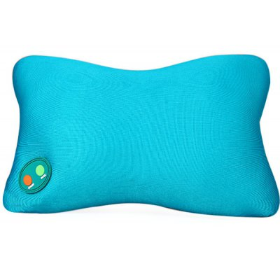 Rectangle Style Cervical Massage Pillow Massage Equipment for Family Office Traveling  -  Blue
