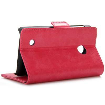 Гаджет   Smooth Leather Stand Phone Case for NOKIA N530 with Card Holder and Back Holes Other Cases/Covers