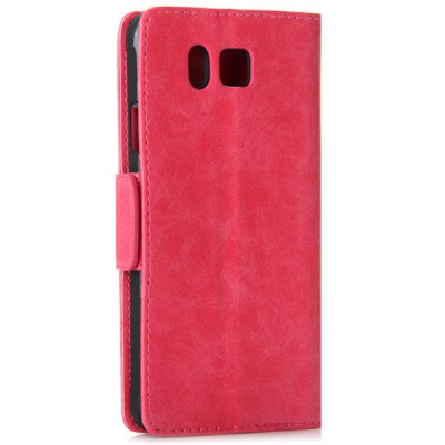 Гаджет   Magnetic Lock Smooth Leather Cover Stand Phone Case for Samsung G8508S with Card Holder Samsung Cases/Covers
