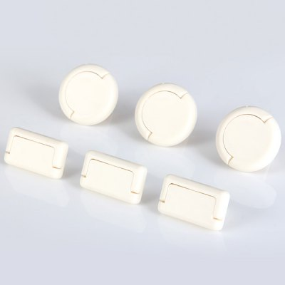 Гаджет   5802 Durable Baby Safety Anti - electric Shock Socket Cover Protector Novelty Gadgets  -  6Pcs Home Gadgets