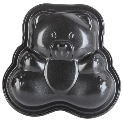 3Pcs Reusable Baking Tray Little Bear Shaped Nonstick Cake Muffin Pan Household GadgetBaking &amp; Pastry Tools<br>3Pcs Reusable Baking Tray Little Bear Shaped Nonstick Cake Muffin Pan Household Gadget<br><br>Type: Bakeware<br>For: Bake cake, bread etc.<br>Material: Stainless Steel<br>Features: Small bear shaped<br>Color: Black<br>Product weight   : 0.107 kg<br>Package weight   : 0.170 kg<br>Product size (L x W x H)   : 11.0 x 11.0 x 2.5 cm / 4.3 x 4.3 x 1.0 inches<br>Package size (L x W x H)  : 18 x 20 x 4 cm<br>Package Contents: 3 x Cake Pan