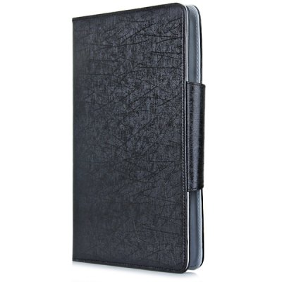 Leather Protective Case with Folding Stand Function Bluetooth Keyboard