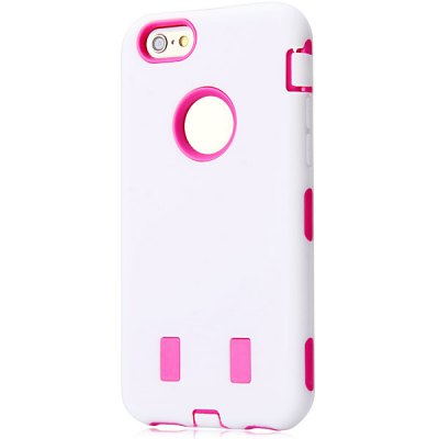 Silicone and PC Back Case for iPhone 6 - 4.7 inches