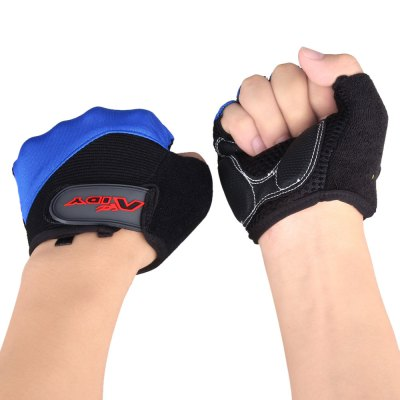 Aidy 1205 Outdoor Sports Road Pro Gel Half - finger Gloves Riding Racing Accessaries with Palm Protection