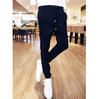 Гаджет   Casual Style Slimming Narrow Feet Lace-Up Men